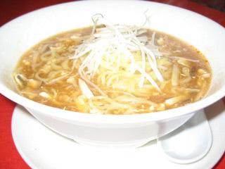 四川風辛子酢ラーメン(酸辣湯麺)