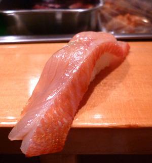 銚子 金目鯛の昆布〆