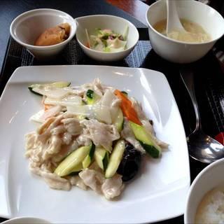 長芋と豚肉炒め
