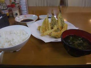 地魚天ぷら定食