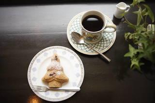 ブレンドコーヒーとケーキのセット