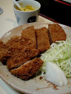 とりかつ&ハムカツの2品定食
