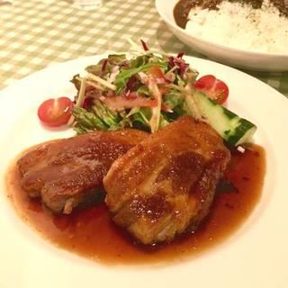 豚バラ肉のコンフィ