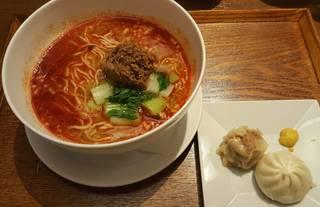 白ゴマ担担麺セット