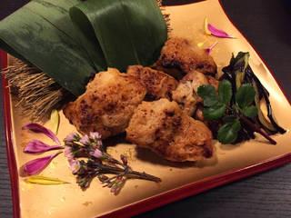 鶏の味噌漬け焼き