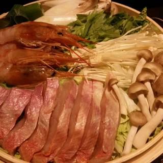 金目鯛の蒸篭鍋