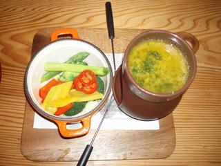 農園野菜の温製バーニャカウダ