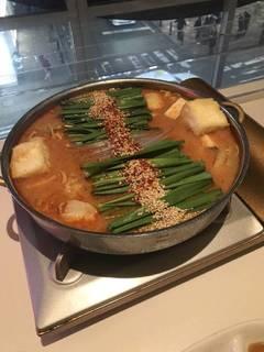 もつ鍋の旨辛味噌