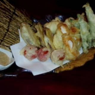 野菜と魚の天ぷら