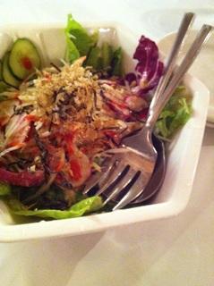 大根とカリカリじゃこの梅風味サラダ