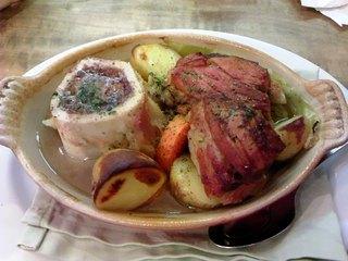 岐阜産美濃ヘルシーポーク 塩漬けバラ肉のポテ