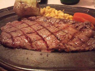 ロースステーキ定食