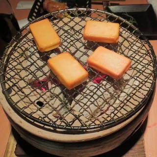 一口チーズの燻製