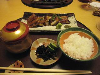 大鰻の蒲焼