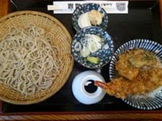 天丼ともり蕎麦セット