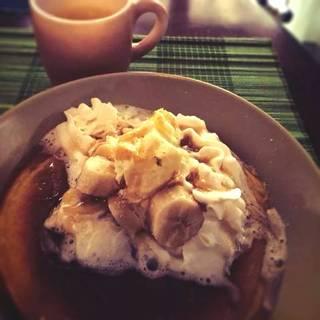 ココナッツパンケーキ