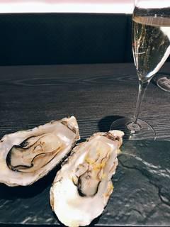 牡蛎の蒸し焼き ゆず風味
