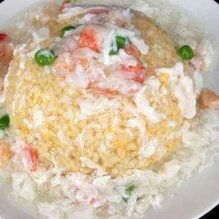 海鮮あんかけ炒飯