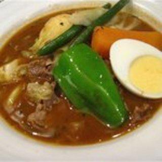 ラムと野菜のスープカレー