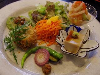 玄米菜食ランチ