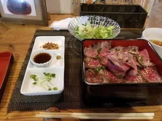 淡路牛ローストビーフ丼