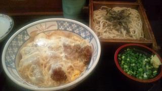 カツ丼&ざるそばセット