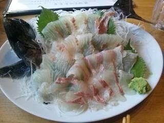 活石鯛刺身