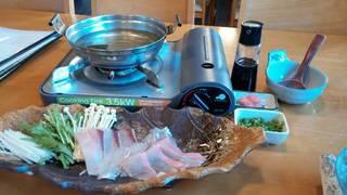 魚しゃぶ 三種盛り