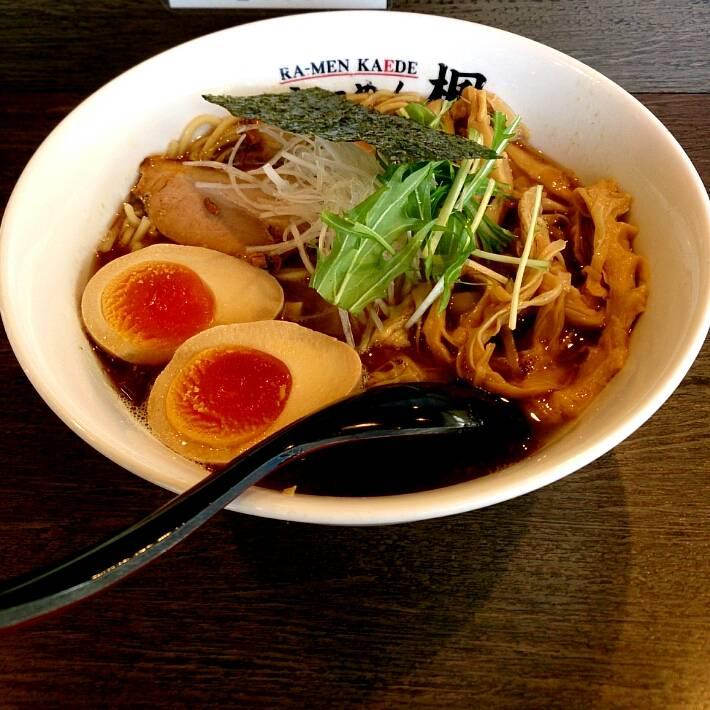 塩玉楓麺 追加メンマ