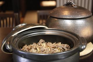 牛土鍋ご飯