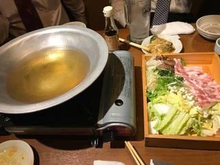 高知県産美鮮豚と香味野菜のしゃぶしゃぶ