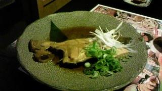 本日の魚料理