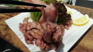 朝引き 鶏のセセリ(首肉)炒め