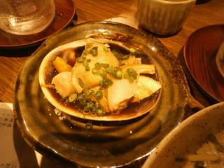 大アサリ醤油焼き
