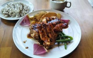 宮崎県産 森林鶏のグリル
