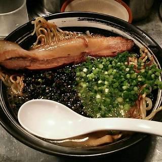 揚ネギ焼麺