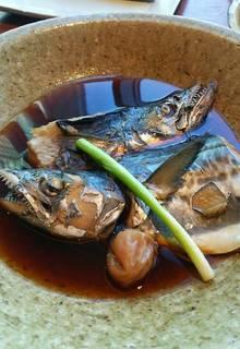 水と醤油の煮魚御膳