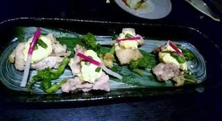 『三元豚の蒸ししゃぶ』+2h飲み放題付『咲(さき)コース』 飲み放題2H付き料理8品 3,600円