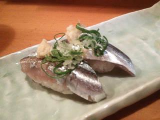 秋刀魚の握り