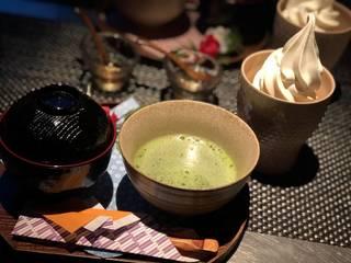 お汁粉お抹茶セット