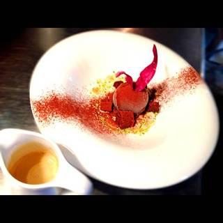 エスプレッソと濃厚チョコアイスのアフォガード