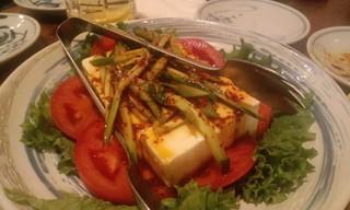 コリアン豆腐サラダ