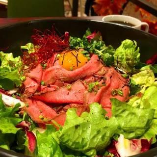 名物ローストビーフ丼