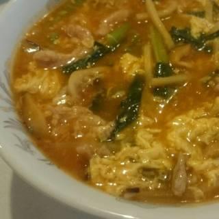 四川風スパイススープ麺