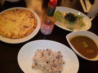 明太子ポテトピザ