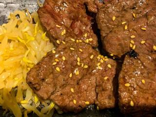 牛ハラミ炙り焼定食