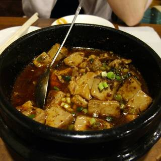 牛肉四川麻婆豆腐