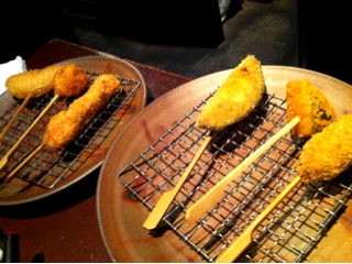 串揚げチーズフォンデュセット6本