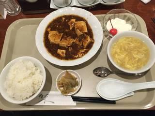 麻婆豆腐セット(ランチメニュー)