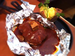 東洋亭風ハンバーグステーキ